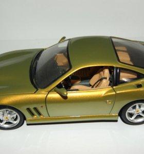 Bburago модель 1/18 Ferrari maranello