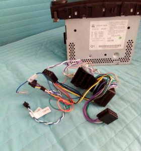 Штатная магнитола для Mercedes C180 kompressor