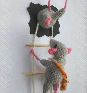 Сувенир-магнит Мышки-воровки