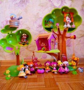 Кукольный домик и лалалупси.