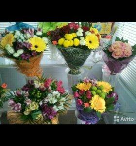 Цветы к празднику!!!