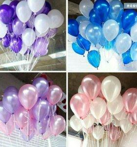 Воздушные шары, Букеты