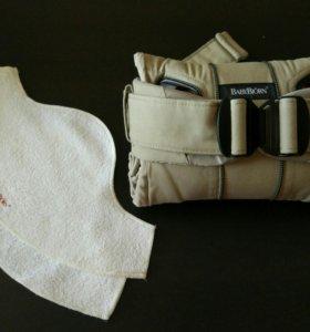 Рюкзак переноска Babybjorn One cotton mix