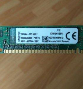 DDR3 KINGSTON 8G (2 по 4G)