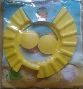 Новая Шапка козырек для купания ребенка