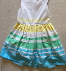Платье, ф. Futurino girls на рост 110 см б/у