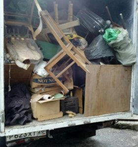 Уборка участков,вывоз мусора