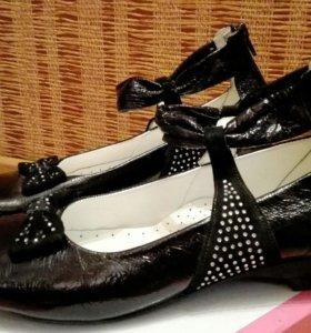 Туфли (из натуральной кожи)