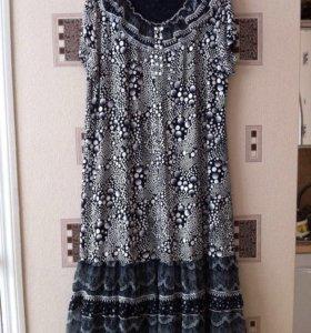 Платье летнее р. 56