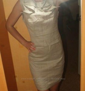 Шикарное платье Warehouse натуральный лён
