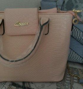 Комплект сумок (большая+клатч+кошелёк) НОВЫЕ