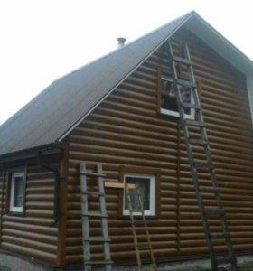 Строитьство Домов, Бань, мелких построек