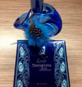 Perfume Lady Castagnette blue addiction 100 ml