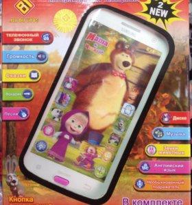 Детский телефон Маша и медведь