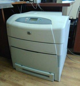 Принтер б/у HP Color LaserJet 5550dn