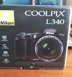 Nikon Colpix L340(возможен обмен)