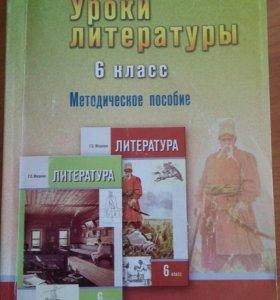 Поурочные разработки по литературе 6 класс Меркин