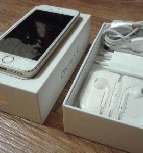 Продаётся iPhone 5s gold