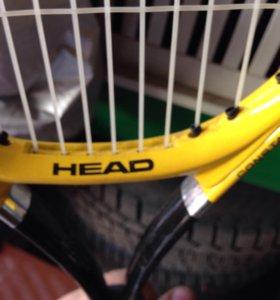 Ракетка для большого тенниса детская 60см