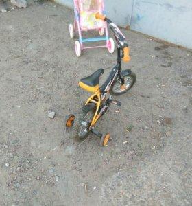 Велосипед детский 12 катки)