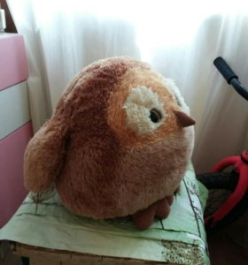 Мягкая игрушка птичка