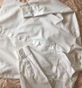 Рубашки на мальчика 134-140