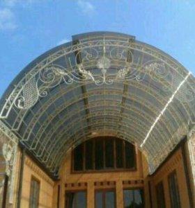 Навесные крыши