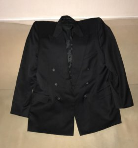 Пиджак мужской чёрный новый р56,-58 рост 178