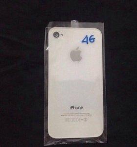 Задняя белая панель (iPhone 4)