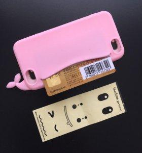 Силиконовый чехол iPhone 5,5s,5c,se