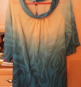 Блуза (шифон) 46-48 продажа обмен. См профиль