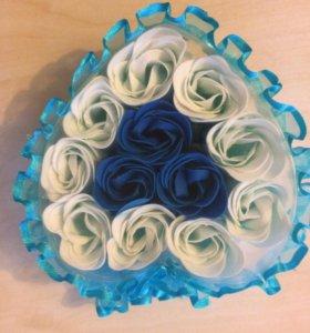 Продам мыло розы