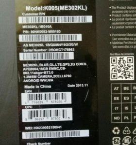 Планшет Asus memo pad ME302KL