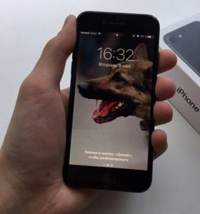 Копия iPhone 7 на ios black 128gb