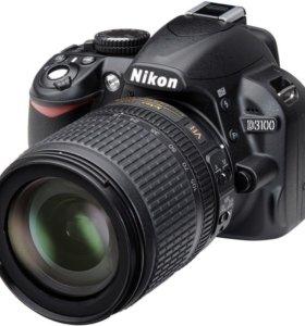 Nikon D3100 Kit 18-105 VR (черный)
