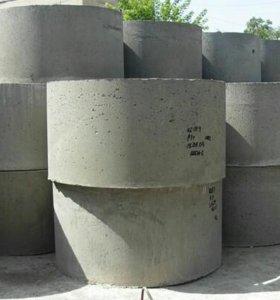 Кольца бетонные для септика, скважины