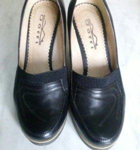 Туфли натур. кожа. Р. 35 на 36.