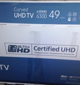 Телевизор Samsung UHD ЖК UE49KU6300UXRU