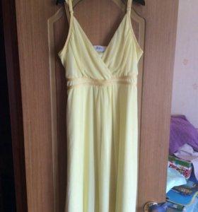 Платье летнее 44