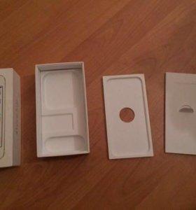 Коробка от айфона 5s 16 gb gold