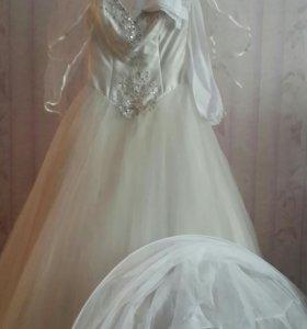 Свадебное платье.Все новое.