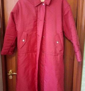 Новое женское пальто-куртка р.48-50