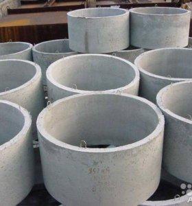 Кольца бетонные армированные