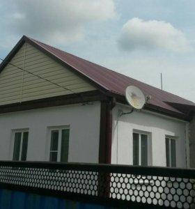 Ремонт крыш, франтонов,облицовка фасадов сайдингом