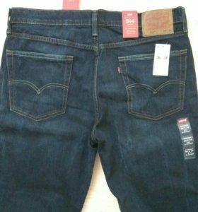Новые джинсы levis 514