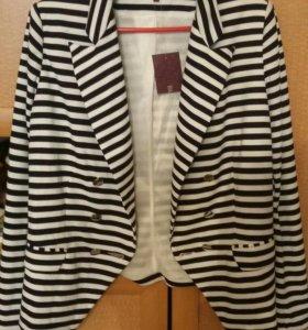 Пиджак с подкладом,теплый