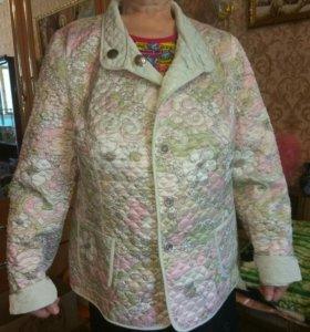 Куртка Ланика стеганая двухсторонняя