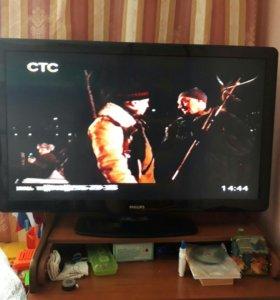 Телевизор 107см. дигон. ЖК LCD Philips pfl3605/60