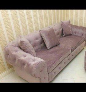 Новенький диван