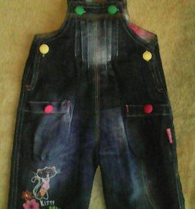 Комбинезончик джинсовый